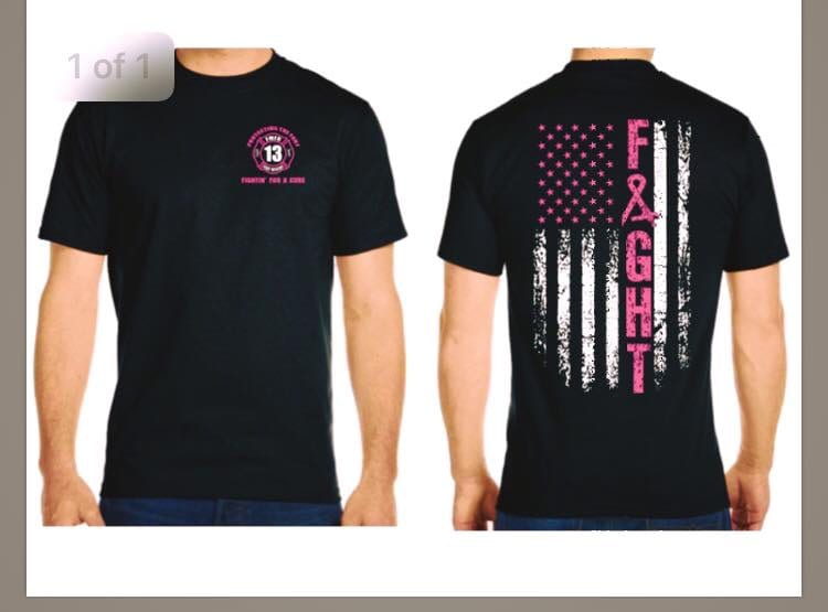 Breast Cancer Awareness T Shirts Fort Montgomery Fire District